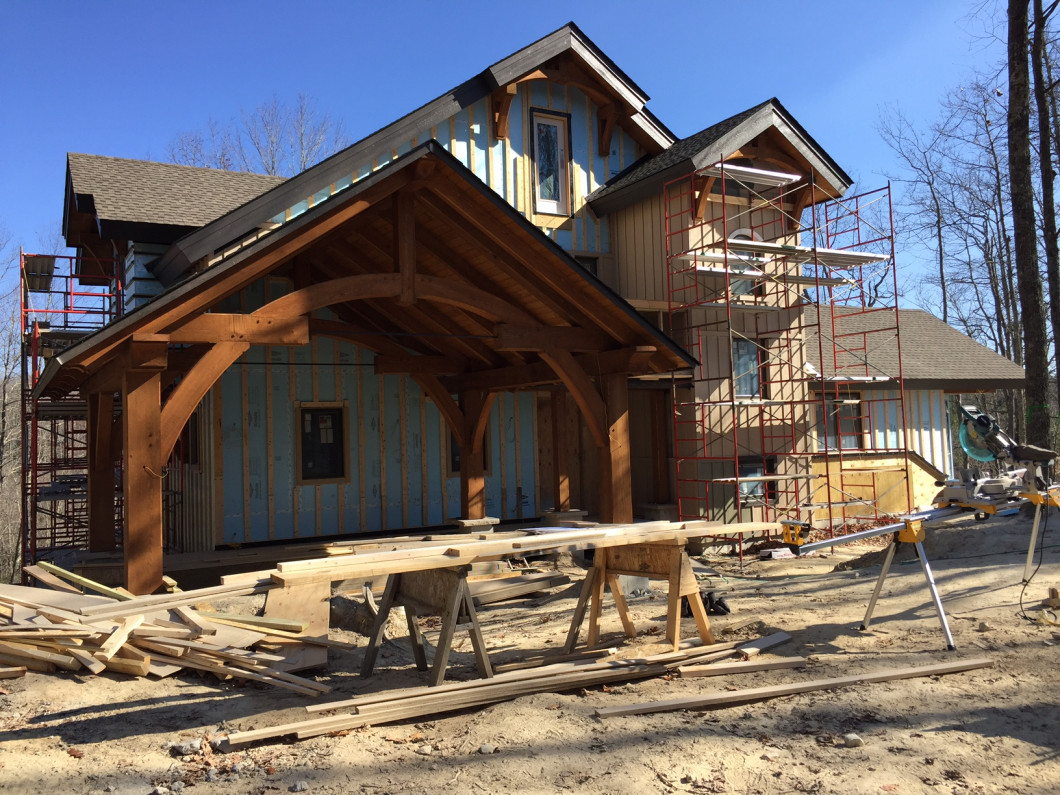 New home building design Boone and Blowing Rock, NC
